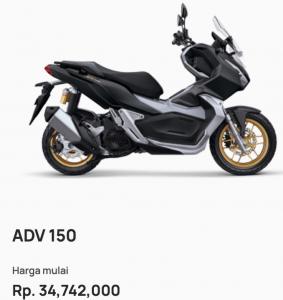 harga kredit motor honda adv 150 garut