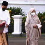 Silaturahmi Digital dengan Ma'ruf Amin, Jokowi Sebut Tak Didampingi Putranya