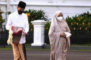Selain Idul Fitri, Jokowi Juga Beri Ucapan Hari Kenaikan Isa Almasih