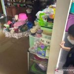 Banjir Kepung Kota Sampit saat Perayaan Lebaran 2021