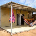 Perusahaan Kolombia menciptakan rumah yang terjangkau dengan menggunakan limbah kopi