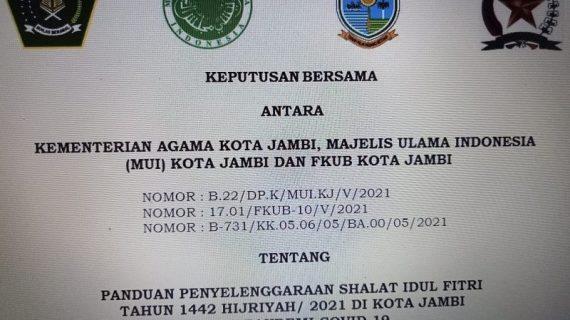 MUI terbitkan panduan Shalat Idul Fitri di rumah