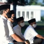 Tidak Open Area, Presiden Akan Salat Identification di Istana Bogor