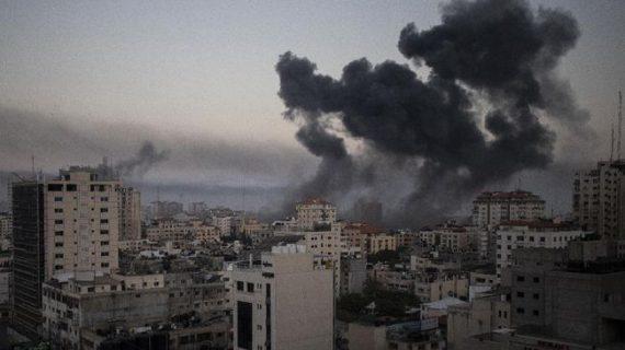 Penampakan Gaza Porak-Poranda Usai Serangan Kejam Israel