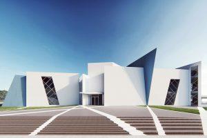 Studio Libeskind mendesain museum Tikva geometris untuk Lisbon