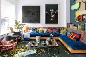 Sofa Built-In Memiliki Momen — dan (Secara harfiah) Di Sini untuk Tetap