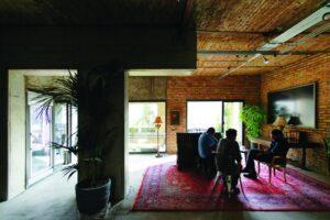Studio Film Farsh di Teheran, Iran oleh ZAV Architects