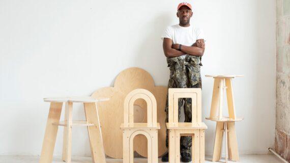 Emmanuel Olunkwa Mendesain Furnitur Fungsional Dengan Intuisinya