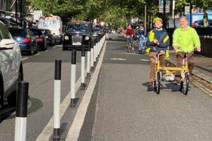 Kompetisi: Merawat Pengendara Sepeda, London