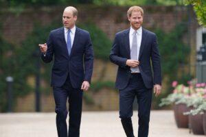Pangeran William dan Pangeran Harry Perkenalkan Patung Putri Diana di Istana Kensington