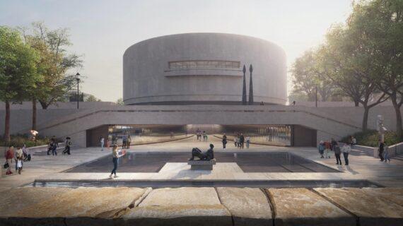 Desain ulang taman patung Hiroshi Sugimoto di Museum Hirshhorn memenangkan persetujuan akhir dari Komisi Seni Rupa