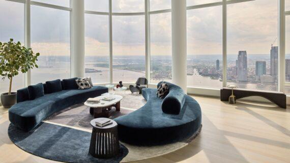 Jelajahi Apartemen New York City setinggi Langit yang Modern Namun Nyaman