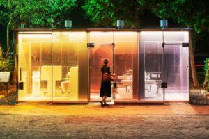 Tepat Saat Olimpiade, Starchitects Membayangkan Kembali Toilet Tokyo
