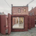 Kafe Kucing Buckminster di Buffalo, New York, oleh Davidson Rafailidis