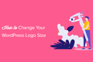 Cara Mengubah Ukuran Logo WordPress Anda (Berfungsi dengan Tema Apa Pun)