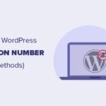 Cara Tepat Menghapus Nomor Versi WordPress
