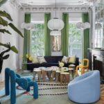 Jelajahi Townhouse Brooklyn Penuh Warna milik Desainer