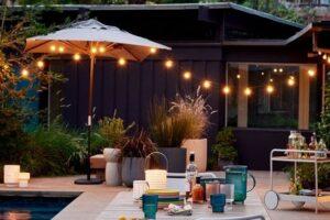 7 Tips Desain Pencahayaan Luar Ruangan untuk Mencerahkan Ruangan Anda Musim Panas Ini